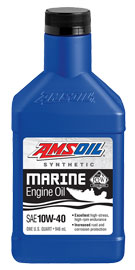 10W-40 Synthetic Formula 4-Stroke Marine Oil (WCF)
