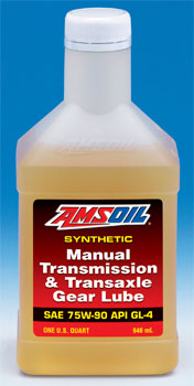 AMSOIL 75W 90 (GL-4) Manual Transmission and Transaxle Gear Lube (MTG)